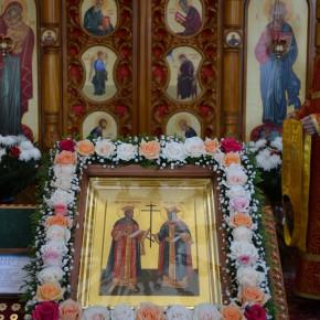 Малая Пасха храма святых равноапостольных Константина и Елены