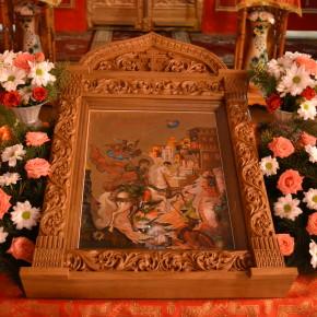 В Свято-Георгиевском храме поселка Удачное отметили престольный праздник.