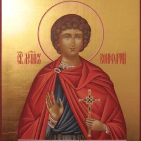 1 января - праздничное богослужение в Свято-Михайловском храме Покровска.