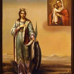 Праздник великомученицы Екатерины отметили В Свято-Николаевском храме Покровска.